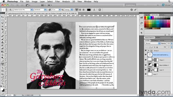 Adding space between paragraphs and paragraph indents: Photoshop for Designers: Type Essentials