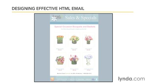 Designing effective HTML email: Effective HTML Email and Newsletters