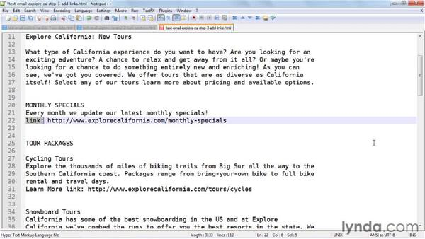 Designing a plain text email from an HTML email: Effective HTML Email and Newsletters