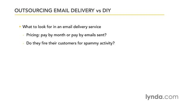 Outsourcing your email campaign: Effective HTML Email and Newsletters
