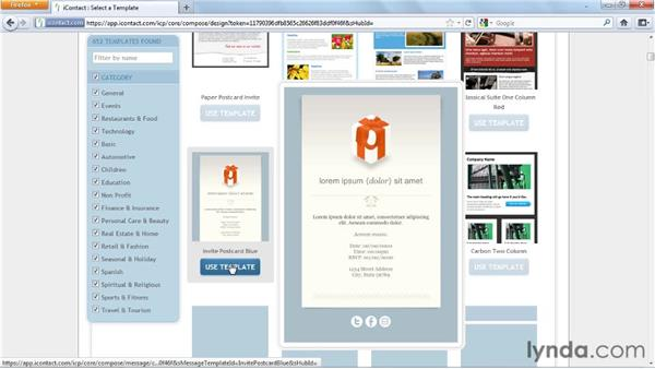 Sending email with canned templates: Effective HTML Email and Newsletters