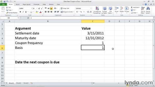 : Excel 2010: Financial Functions in Depth