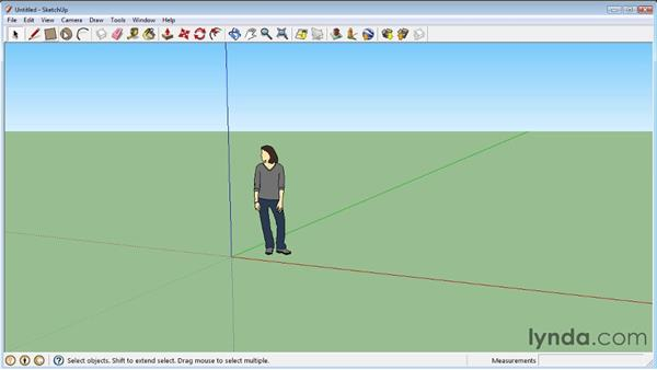 Interface basics : SketchUp 8 Essential Training