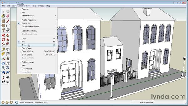 Navigating : SketchUp 8 Essential Training