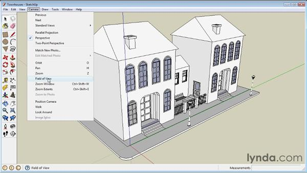 Changing perspective: SketchUp 8 Essential Training