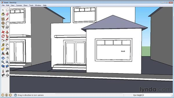 Walking around : SketchUp 8 Essential Training
