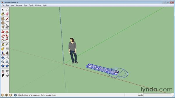 Creating 3D text: SketchUp 8 Essential Training