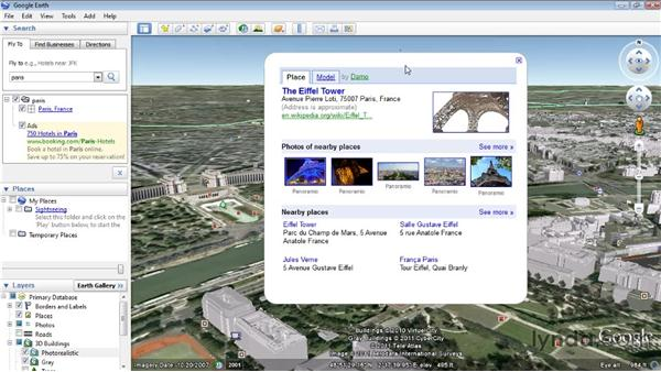 Importing from Google Earth: SketchUp 8 Essential Training