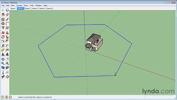 Advanced animation: SketchUp 8 Essential Training