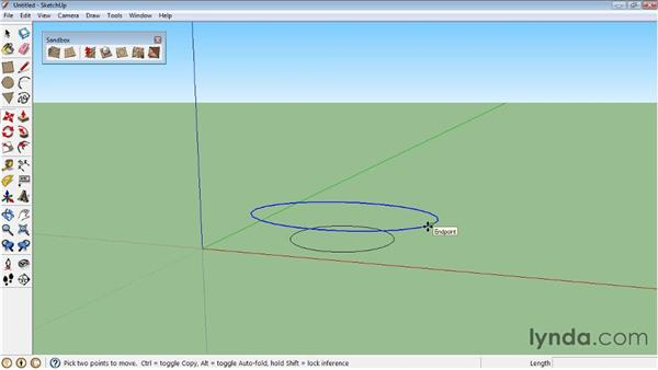 Modeling objects with contours: SketchUp 8 Essential Training