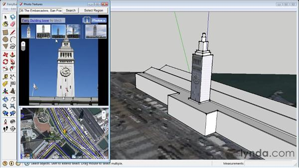 Using Photo Match to align cameras : SketchUp 8 Essential Training
