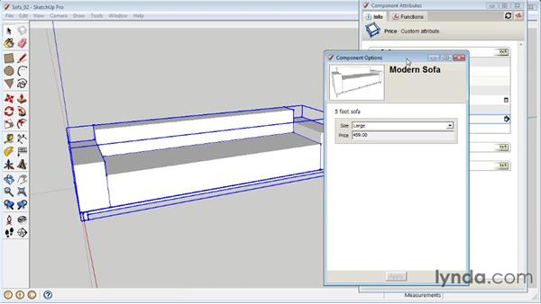 Using math and functions: SketchUp 8 Essential Training