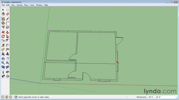 Importing objects from AutoCAD : SketchUp 8 Essential Training
