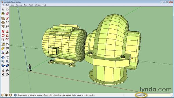 Importing other 3D objects : SketchUp 8 Essential Training