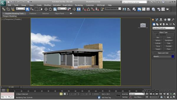 Exporting objects for rendering : SketchUp 8 Essential Training