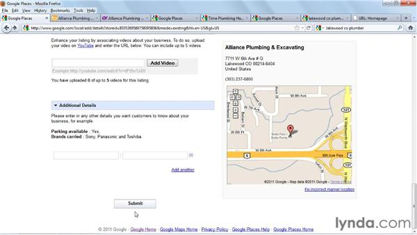 Submitting to the map sites: Analyzing Your Website to Improve SEO