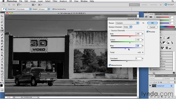More about the Black & White dialog box: Foundations of Photography: Black and White