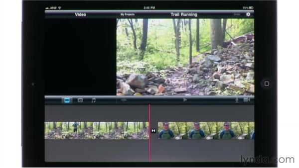 Making sure Location Services is turned on: iMovie for iPad Essential Training