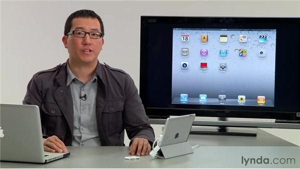 Importing from an iPhone or iPod Touch: iMovie for iPad Essential Training