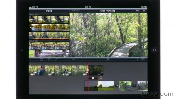 Using the Precision Editor: iMovie for iPad Essential Training