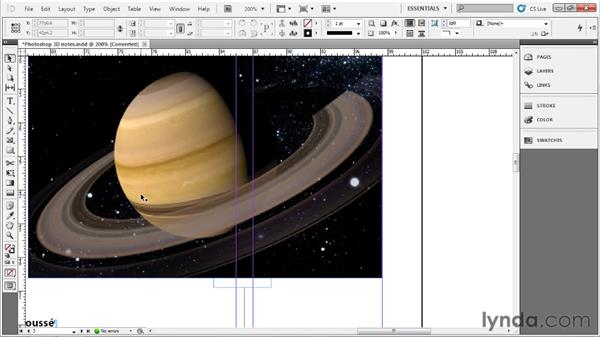 Getting around your document: Up and Running with InDesign