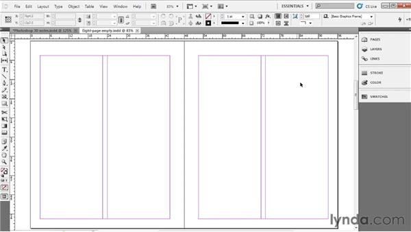 Working with rulers and guides: Up and Running with InDesign