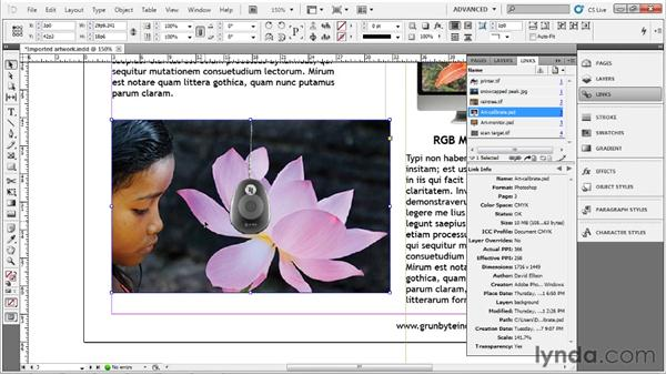 Cropping and scaling: Up and Running with InDesign