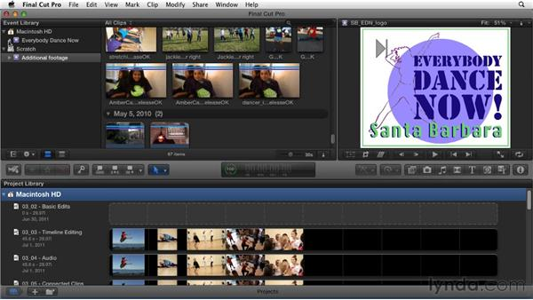 Organizing media in the Event Library: Migrating from Final Cut Pro 7 to Final Cut Pro X (2011)