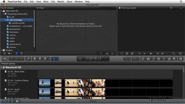 Organizing and keywording clips: Migrating from Final Cut Pro 7 to Final Cut Pro X (2011)