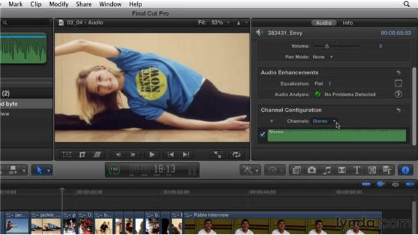 Adding and adjusting audio: Migrating from Final Cut Pro 7 to Final Cut Pro X (2011)