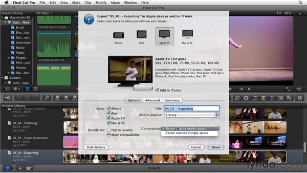 : Migrating from Final Cut Pro 7 to Final Cut Pro X (2011)
