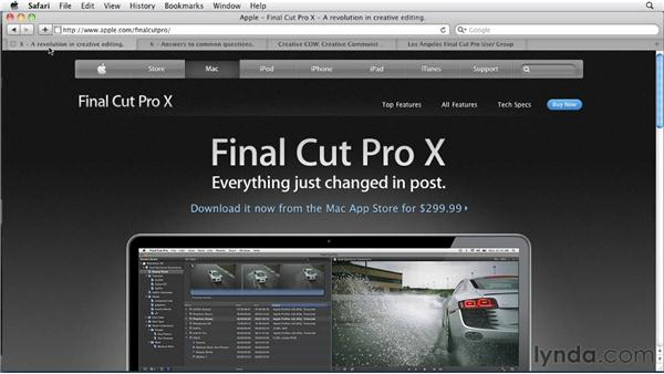 Next steps: Migrating from Final Cut Pro 7 to Final Cut Pro X (2011)