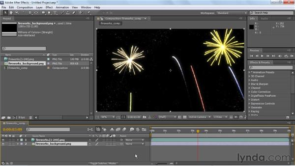 Compositing in After Effects: Creating Particle and Fire Effects with Maya