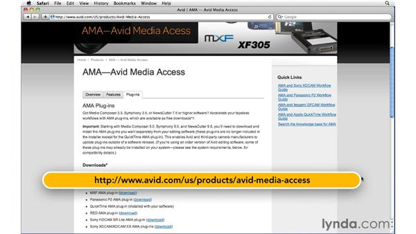 Hardware and software requirements for this course: Migrating from Final Cut Pro 7 to Avid Media Composer 5.5