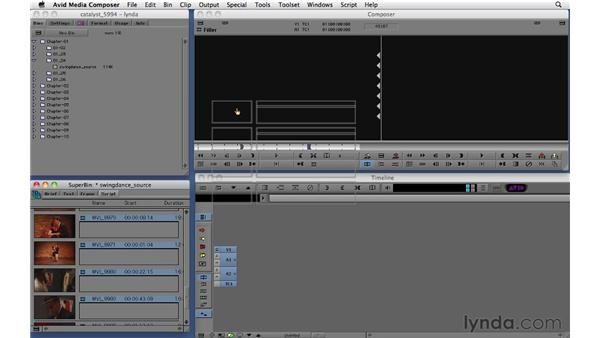 Viewing, selecting, navigating, and playing clips: Migrating from Final Cut Pro 7 to Avid Media Composer 5.5