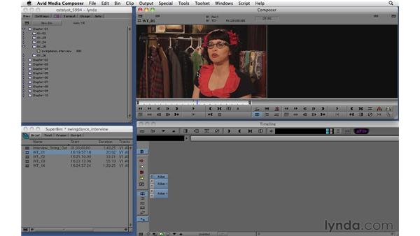 Marking clips and using the Timeline window: Migrating from Final Cut Pro 7 to Avid Media Composer 5.5