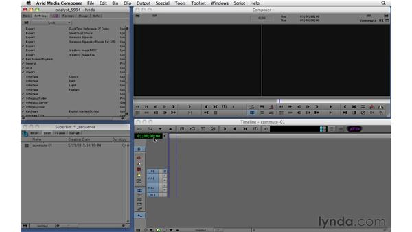 Creating basic sequences: Migrating from Final Cut Pro 7 to Avid Media Composer 5.5