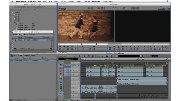 Accessing clips from other projects: Migrating from Final Cut Pro 7 to Avid Media Composer 5.5
