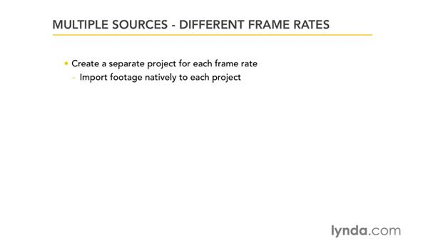 Project structure, formats, frame rates, and the Format tab: Migrating from Final Cut Pro 7 to Avid Media Composer 5.5