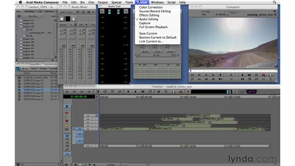 Using toolsets and workspaces: Migrating from Final Cut Pro 7 to Avid Media Composer 5.5