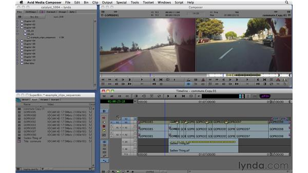 Customizing the Bin and Timeline views: Migrating from Final Cut Pro 7 to Avid Media Composer 5.5