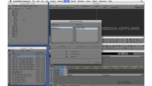 Deleting clips and using the Media tool: Migrating from Final Cut Pro 7 to Avid Media Composer 5.5