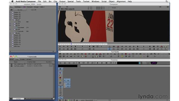 Transcoding: Migrating from Final Cut Pro 7 to Avid Media Composer 5.5