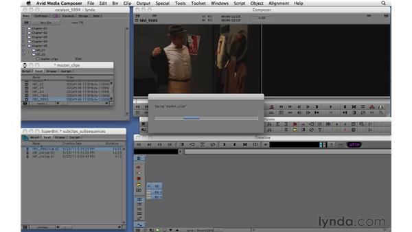 Creating subclips and subsequences: Migrating from Final Cut Pro 7 to Avid Media Composer 5.5