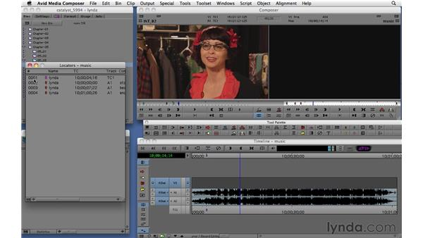 Using locators for organizing, logging, and editing: Migrating from Final Cut Pro 7 to Avid Media Composer 5.5