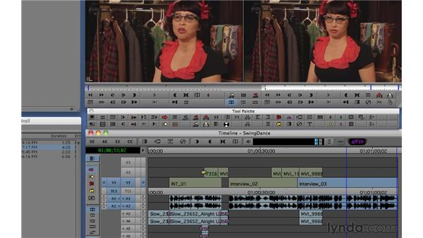 Using timeline selections: Migrating from Final Cut Pro 7 to Avid Media Composer 5.5