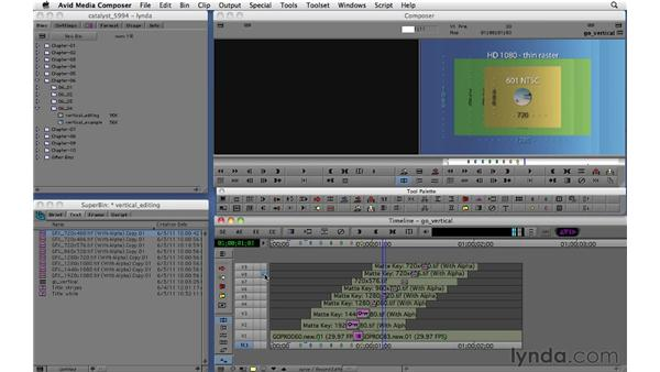 Editing vertically: Migrating from Final Cut Pro 7 to Avid Media Composer 5.5