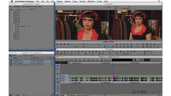 Using smart trim tools: Migrating from Final Cut Pro 7 to Avid Media Composer 5.5