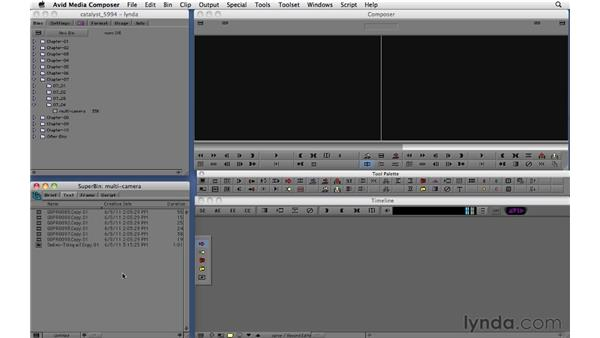 Setting up the timeline for multi-cam editing: Migrating from Final Cut Pro 7 to Avid Media Composer 5.5