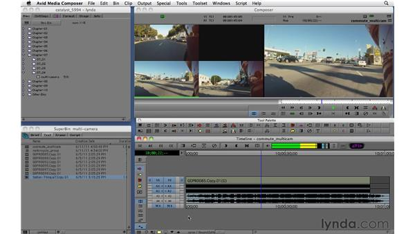 Multi-cam editing: Migrating from Final Cut Pro 7 to Avid Media Composer 5.5